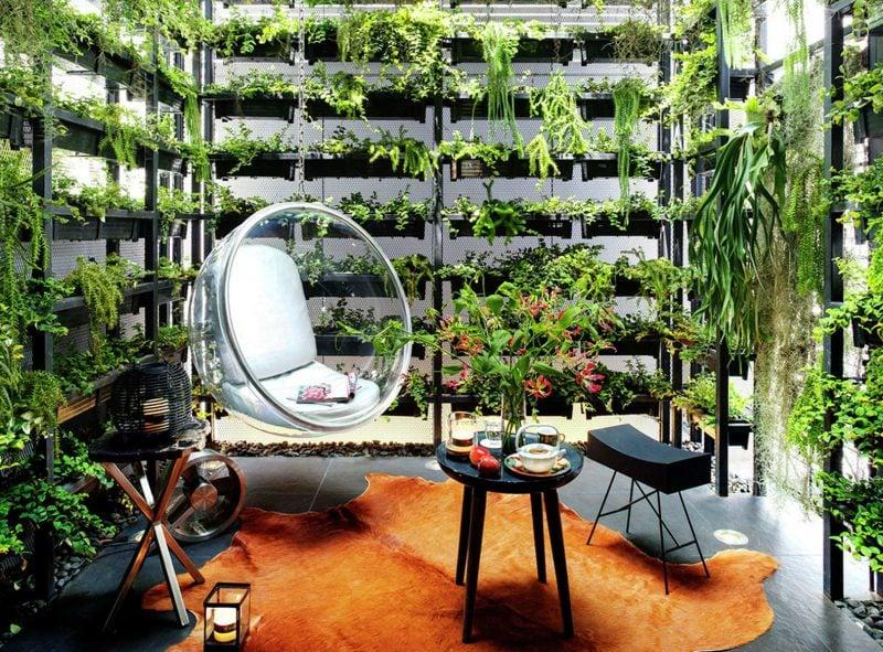 Indoor Vertikaler Garten Bringen Sie die Natur zu Hause