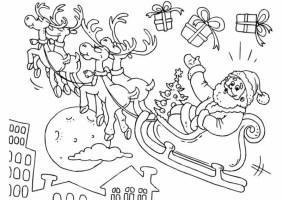 20 Ausmalbilder zu Weihnachten Erfreuen Sie Ihre Kinder ...