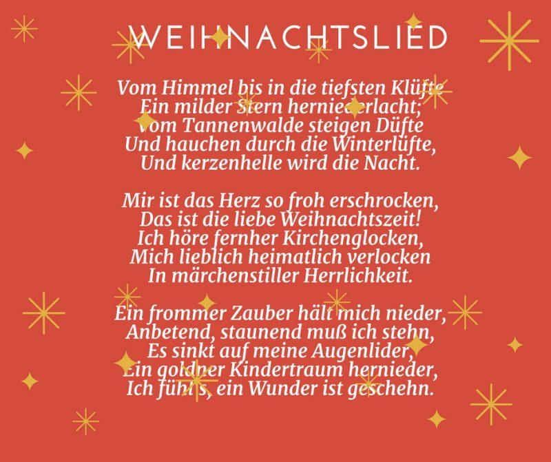25 Gedichte fr Weihnachten fr Gro und Klein  Deko