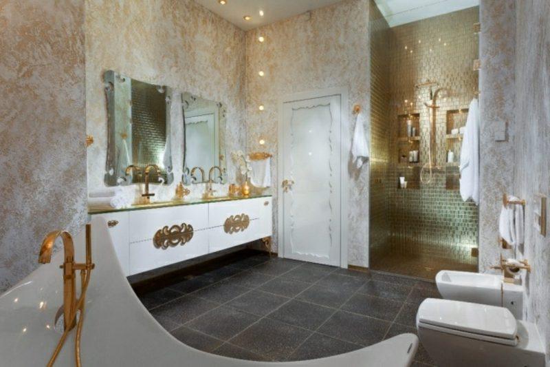 Luxus Badezimmer Design Einzigartig In Stil Und Erscheinung