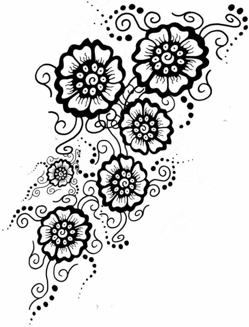 Blumenranken Tattoo: 20 schöne Vorlagen für diverse