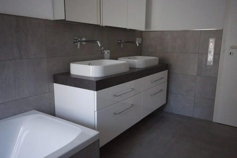 Der neue Trend fr das Badezimmer Betonoptik  Badezimmer Trends  ZENIDEEN