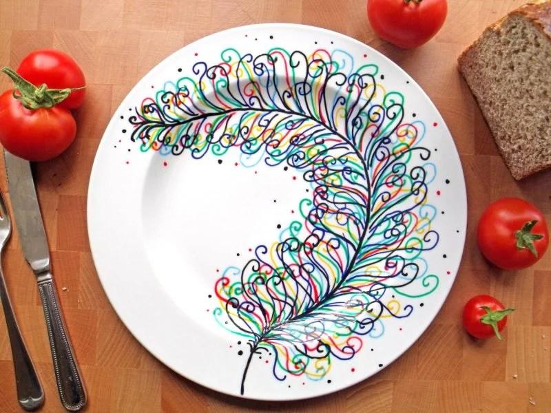 Keramik bemalen 40 DIY Ideen - DIY - ZENIDEEN