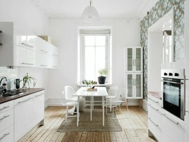 Skandinavische Möbel Moderne Badezimmer Weiß Holz Farbe Glas ...