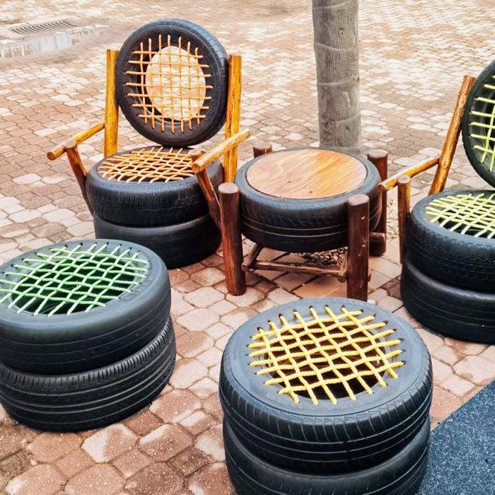 Recycling Mbel aus Autoteilen 46 super kreative Ideen  Innendesign Mbel  ZENIDEEN