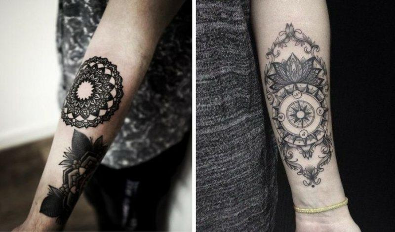 Tattoo auf Unterarm  25 tolle Ideen fr Mnner und Frauen