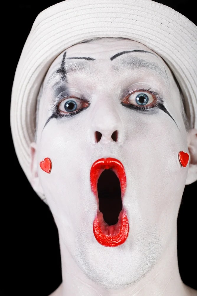 Kreative Bastelideen Fasching Make Up Im Letzten Moment: Clown Schminken