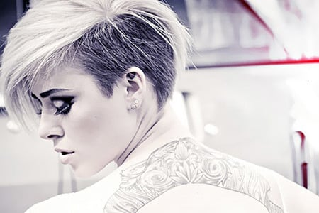 Undercut Frauen Frisuren So Stylen Sie Den Undercut! DIY