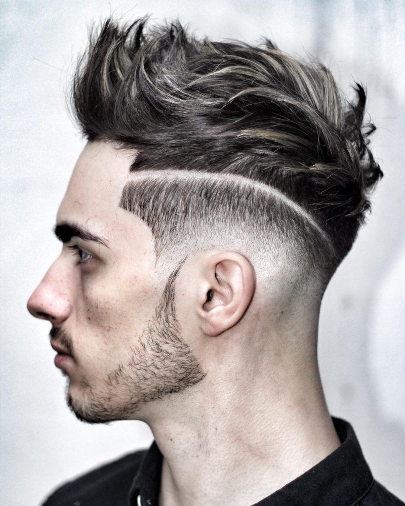Männer Frisuren 2017 Trendige Pompadour Frisur Für Herren