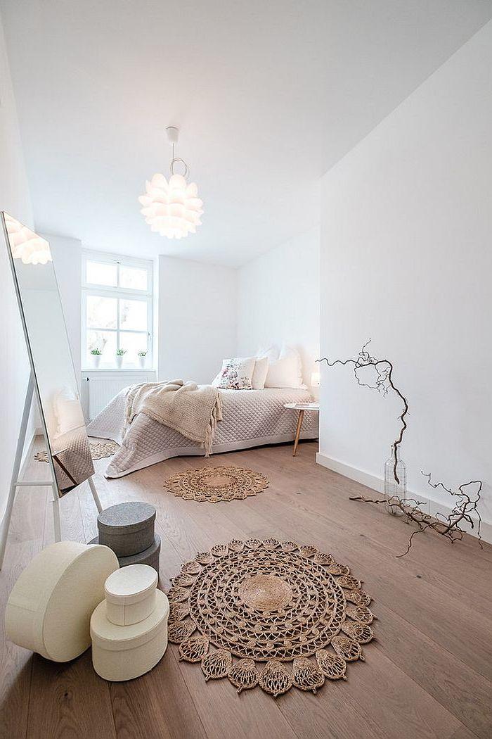 Wandgestaltung Schlafzimmer Skandinavisch | Besonderes ...