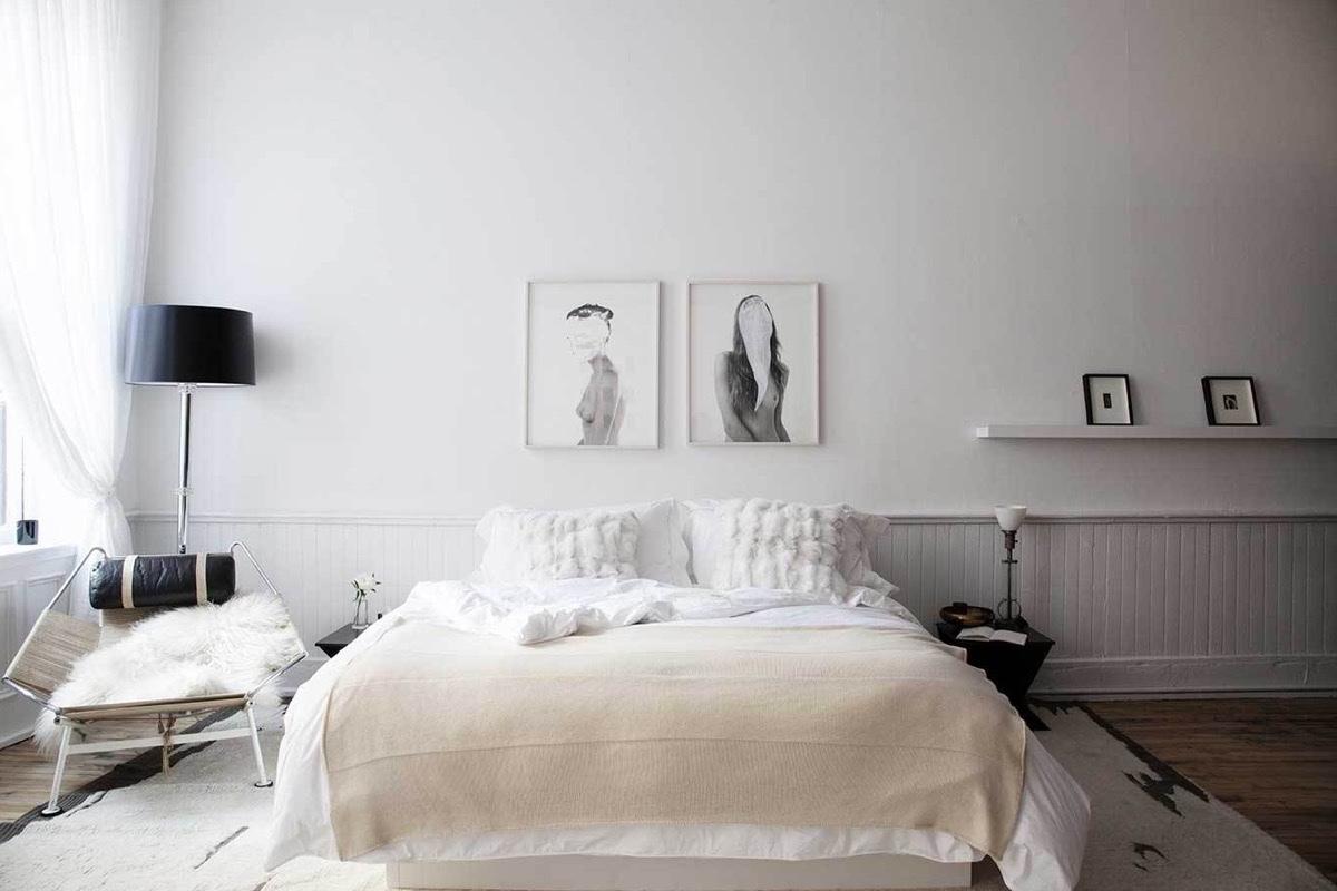 Schlafzimmer skandinavisch einrichten 40 tolle Schlafzimmer Ideen  Innendesign Schlafzimmer