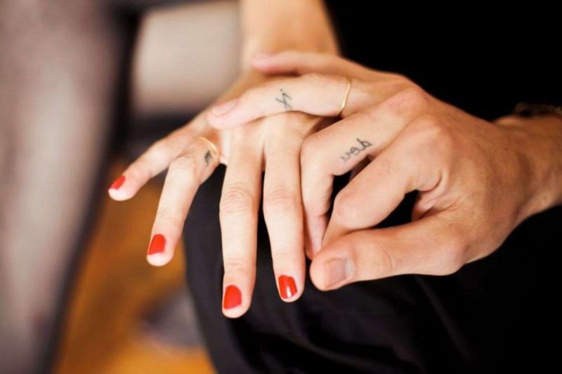 Ehering Mann Finger
