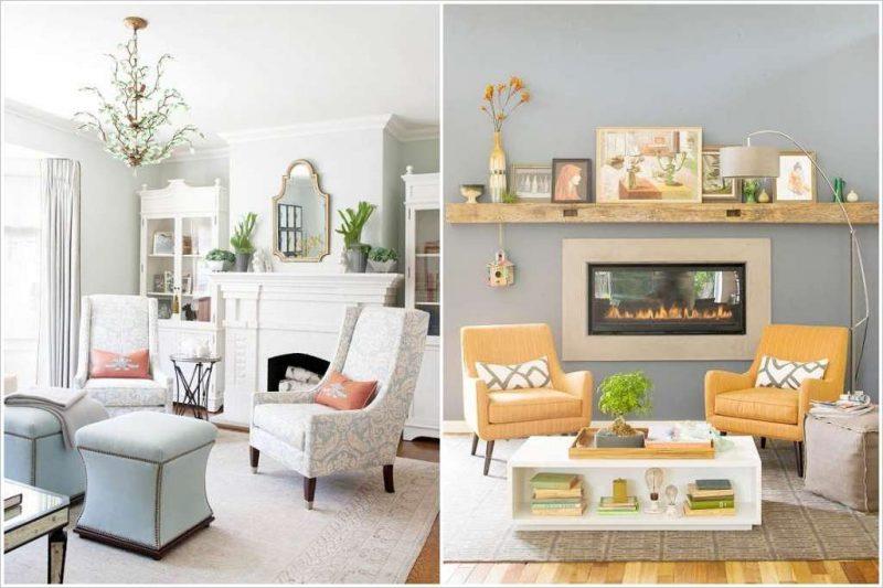 Wohnzimmergestaltung VorherNachher