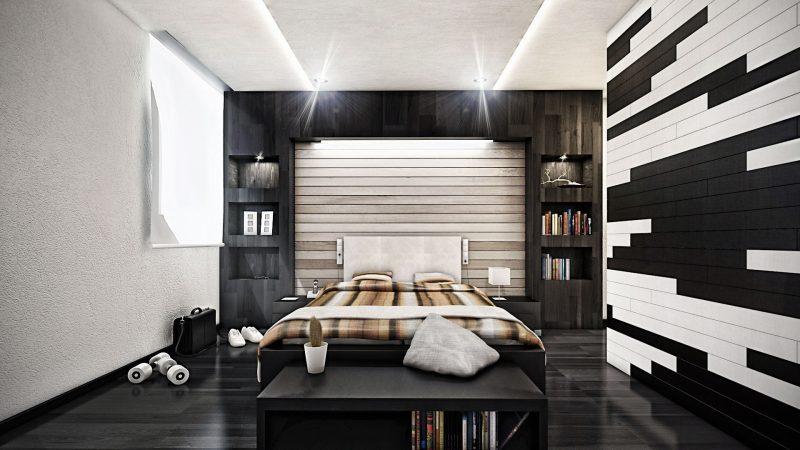 Schlafzimmer gestalten  prachtvolle Wandgestaltung