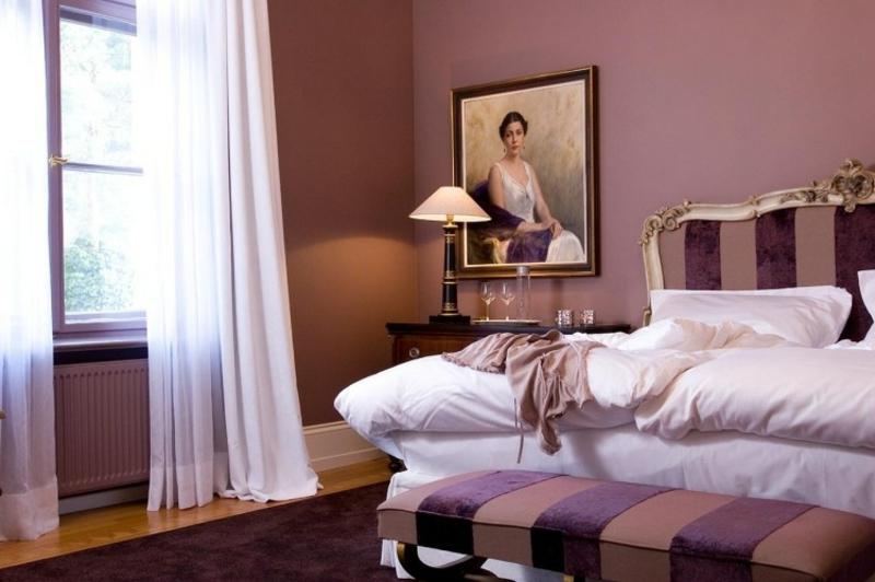 Schlafzimmer Altrosa