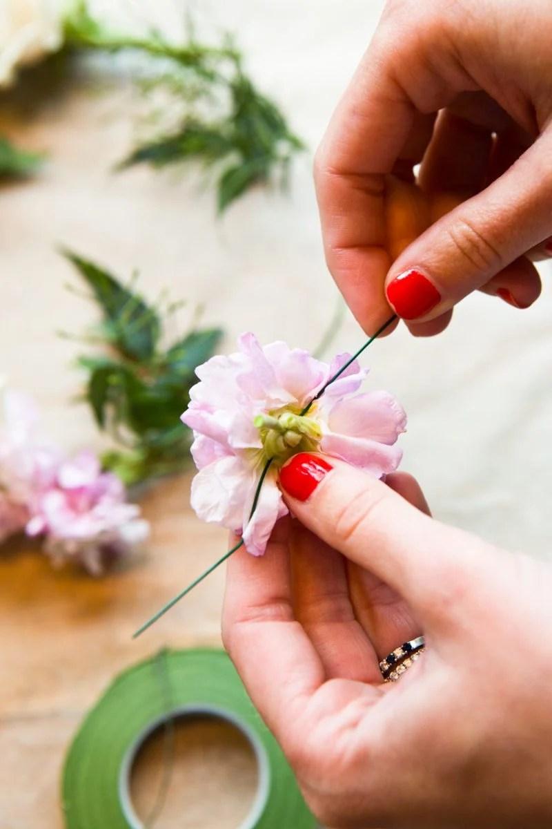 Blumenkranz fr die Haare selber machen 26 Anleitungen