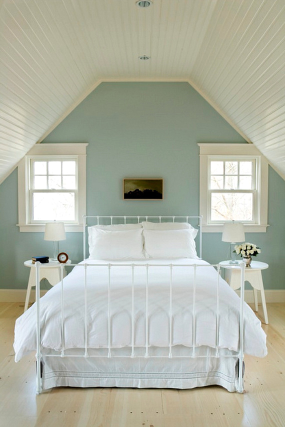 Wandgestaltung Schlafzimmer Ideen  40 coole Wandfarben  Schlafzimmer Wandverkleidung  ZENIDEEN