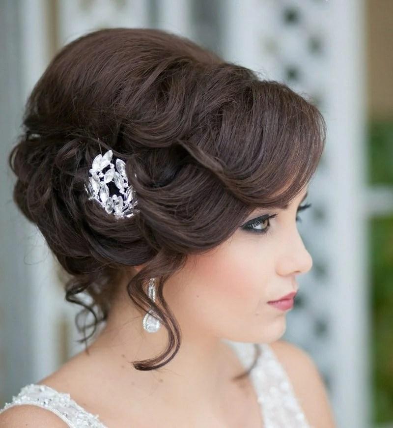 Hochsteckfrisuren zur Hochzeit 25 bezaubernde Haarstyling
