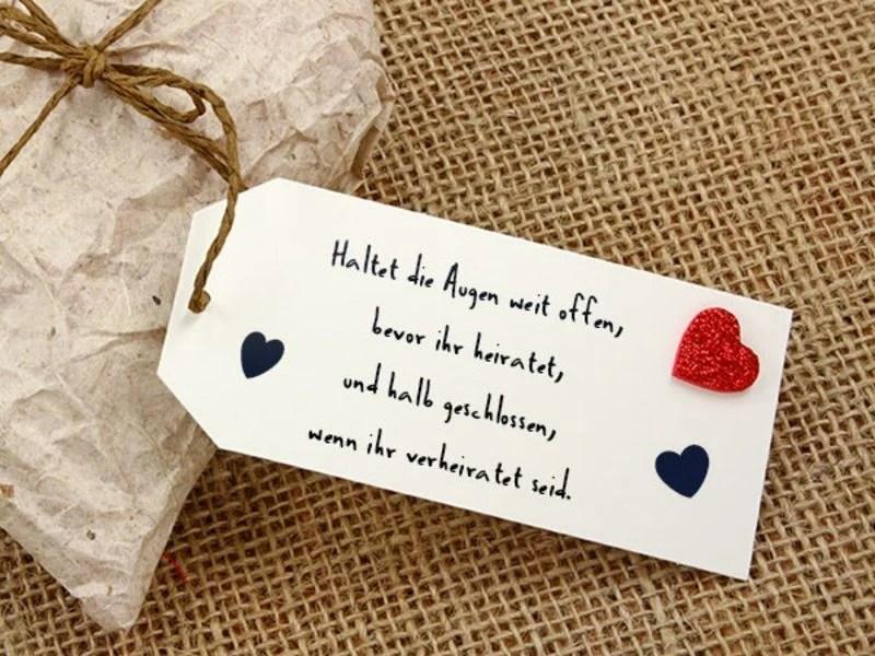Hochzeitssprche fr Karten  40 inspirierende Ideen