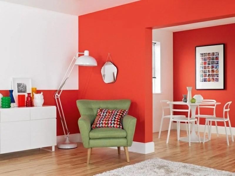 40 moderne Wandfarben Ideen fr das Wohnzimmer