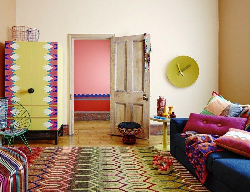 Gelbe Couch Welche Wandfarbe Von Wandfarben Malen Sie Ihr Leben Bunt  Wandfarbe Braun Und
