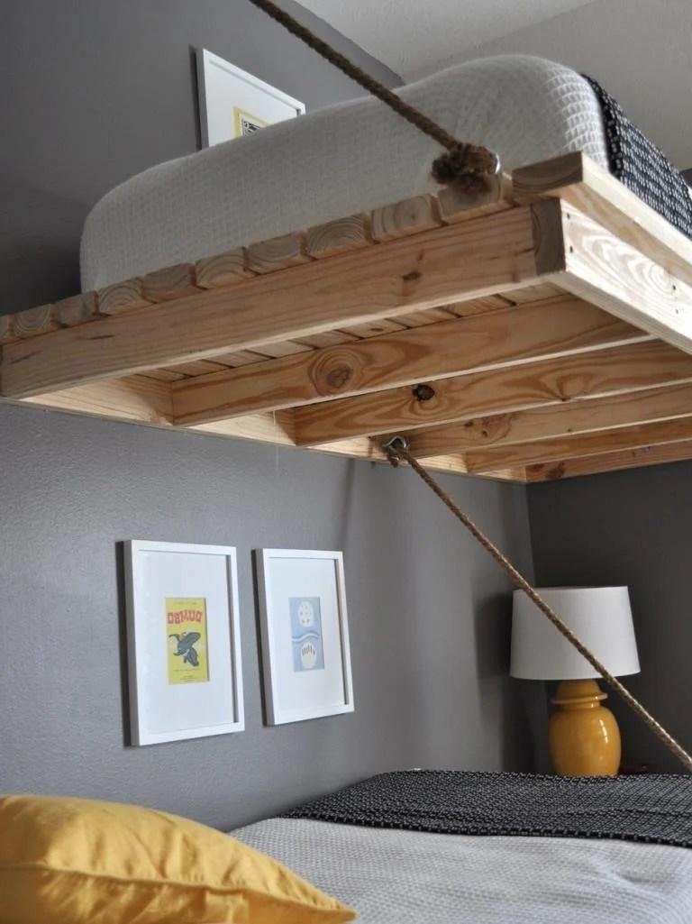 hochbett erwachsene selber bauen | wohnzimmer grundriss ideen
