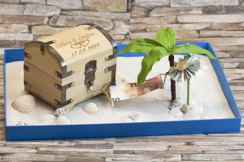Hochzeitsgeschenk Geld kreativ verpacken 71 DIY
