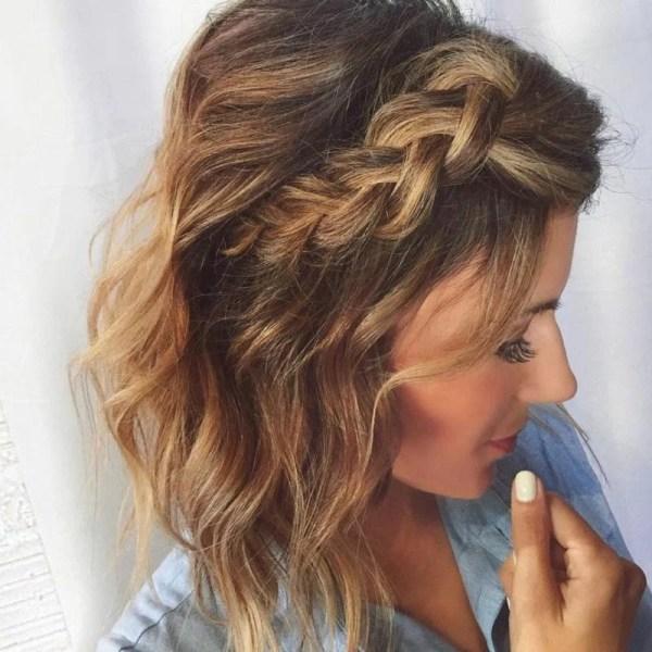 30 Braid Wedding Hairstyles For Short Hair Length Hairstyles