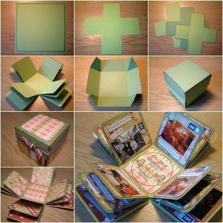Schachtel falten fr kleine Geschenke basteln  31 DIY