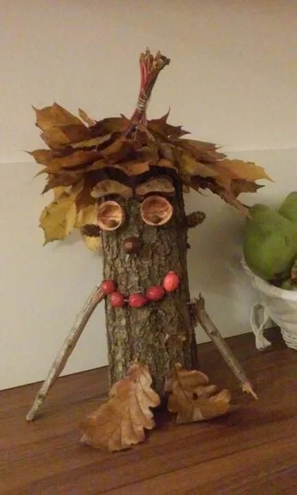 Herbstbltter  kreative Deko und BastelIdeen  Deko  Feiern Herbst  ZENIDEEN
