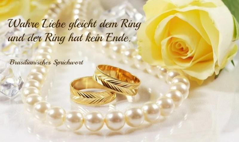 Glckwnsche und Sprche fr die goldene Hochzeit der