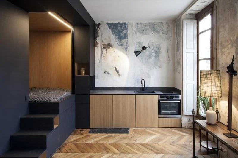 Wie können Sie richtig eine 1 Zimmer Wohnung einrichten? - Innendesign - ZENIDEEN