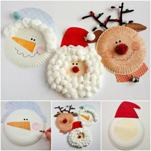 Anleitungen Basteln mit 2jhrigen Kindern fr Weihnachten  bastelideen  ZENIDEEN