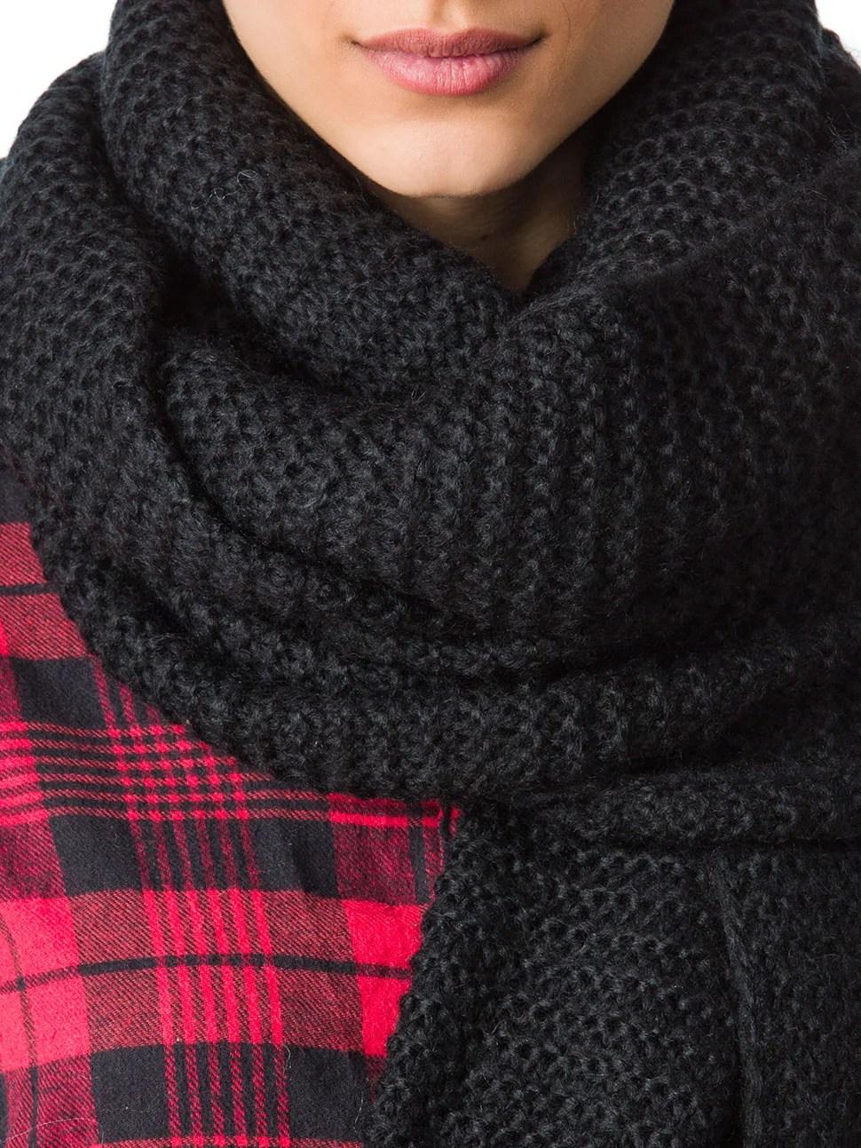 Wie kann man selber einen voluminsen und kuscheligen Schal stricken  DIY  ZENIDEEN