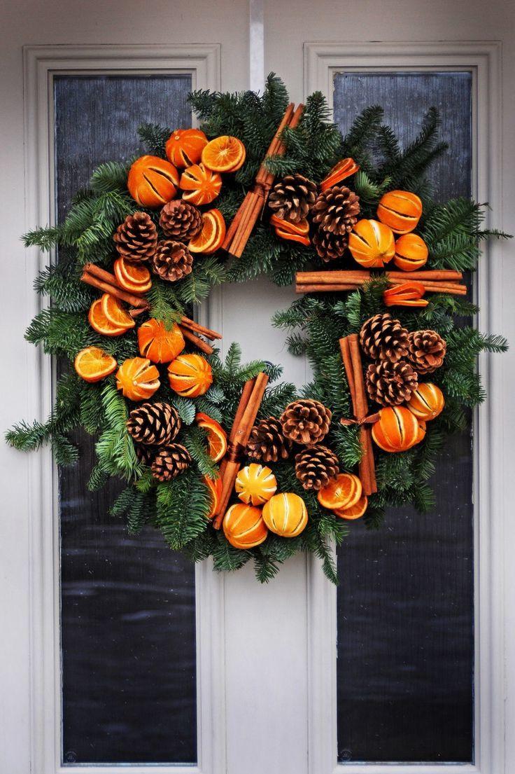 Trkranz Weihnachten  kreative Ideen fr festliche