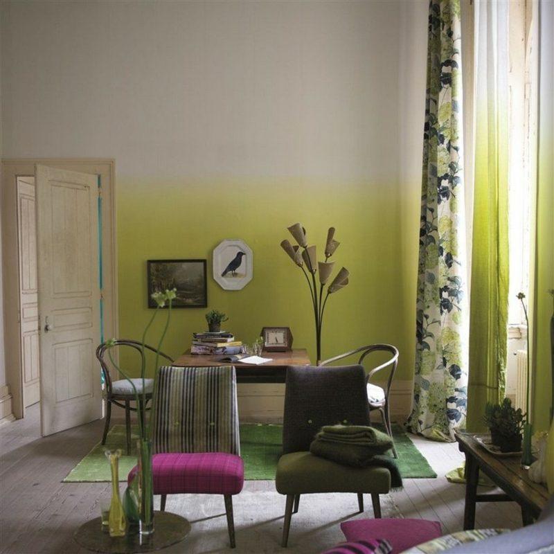 Tolle Wandgestaltung Ideen fr die Kche das Wohn und Schlafzimmer