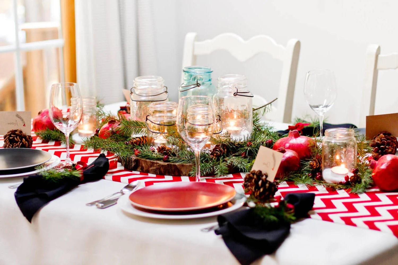 Weihnachtliche Tischdeko  Ihr Ratgeber fr festlich