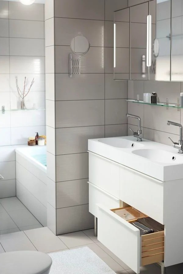IKEA Badmbel  voller Funktionalitt und Feinheit