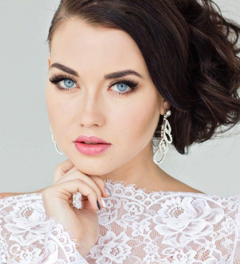 Braut Make up atemberaubende Ideen fr die perfekte Hochzeit