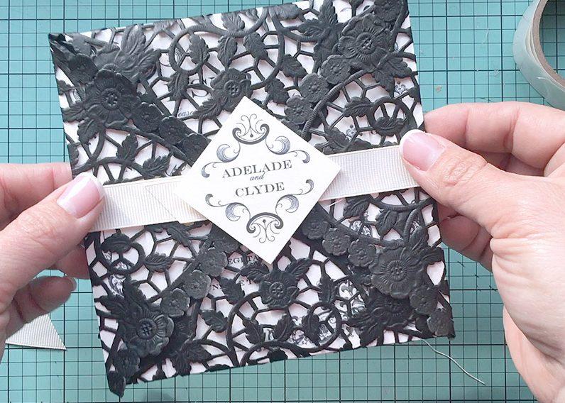 Hochzeitskarte basteln DIY Ideen fr eine einzigartige Papeterie  DIY Hochzeit  ZENIDEEN