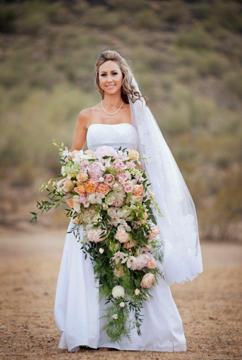 Brautstrau Wasserfall fr eine unglaublich romantische Hochzeit