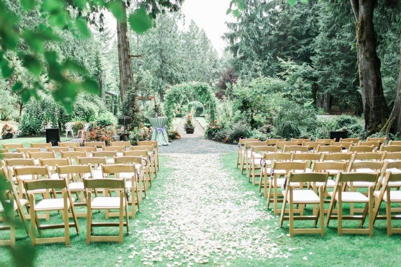 Hochzeit im Garten feiern Planen Sie ein unvergessliches