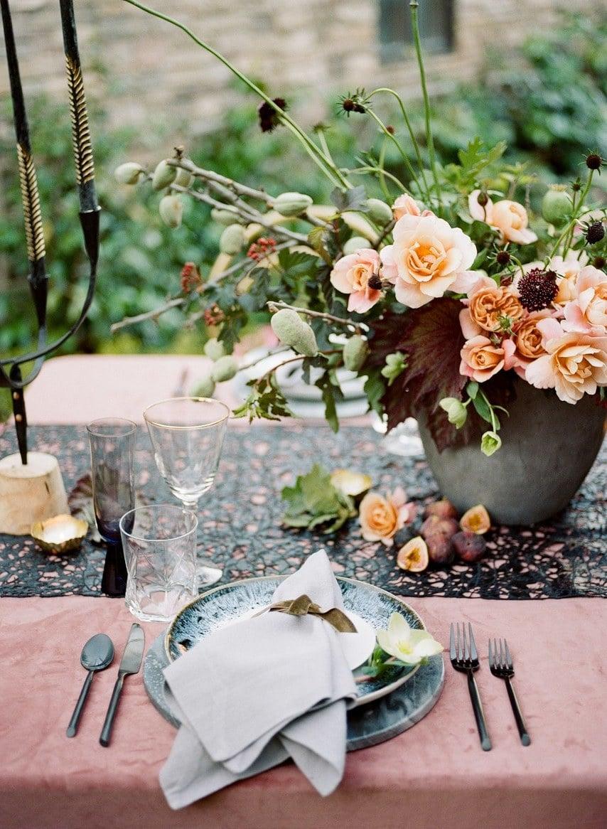 Meine Hochzeit im Herbst 50 Ideen fr atemberaubende Hochzeitsdeko Vintage  Herbst Hochzeit