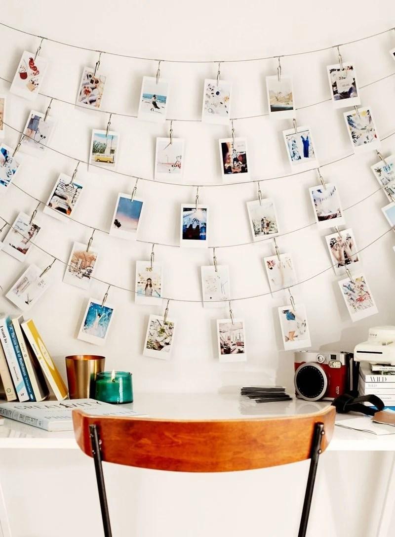 Fotos An Wand Befestigen   Fantastische Birkenstamm Deko ...