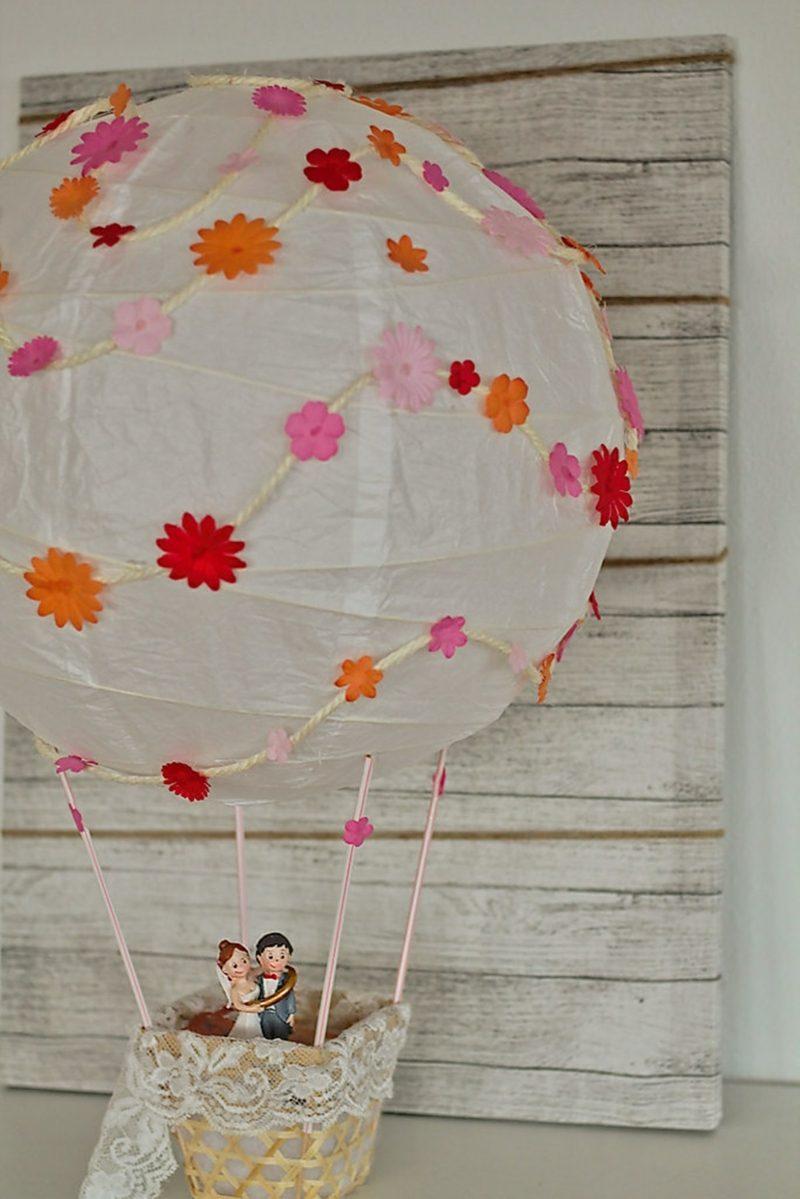 Heiluftballon basteln Deko und Geschenkideen zum Nachmachen