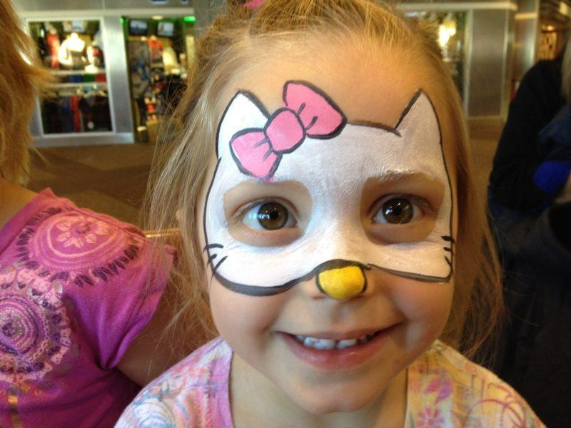 Halloween Schmink Kind.Kinderschminken Vorlagen Totenkopf