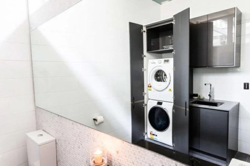 Waschmaschine Und Trockner übereinander Stellen | Ziegel ...