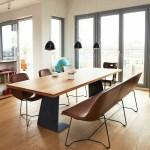 Lederbank Esstisch Gemutliche Sitzecke Im Esszimmer Einrichten