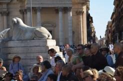 """In una conferenza pubblica il maestro zen ha detto: """"come'è possibile vivere a Roma, una delle città più belle del mondo, e non essere felici?"""""""