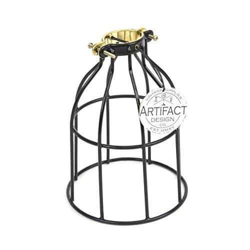 SooFoo Antique Metal Shell Edison Retro Pendant Lamp